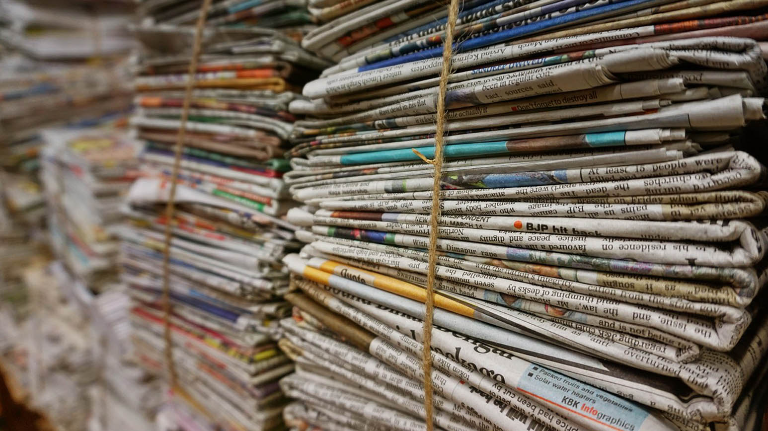 Declutter Magazines and Newspapers